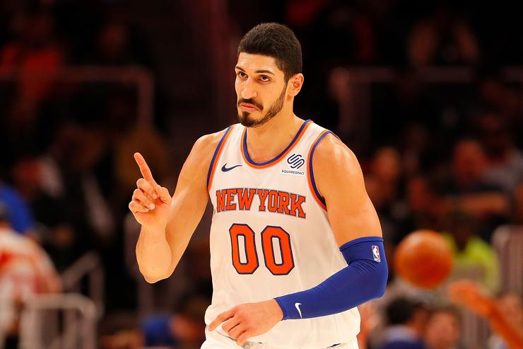Turkey Seeks Arrest Warrant For Knicks Center Enes Kanter