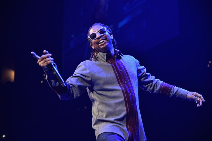 Rapper Lil Jon performs onstage during Power 105.1's Powerhouse 2016 at Barclays Center on October 27, 2016 in New York City.
