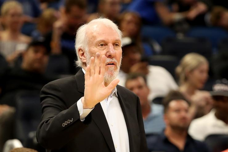 Gregg Popovich non-committal regarding future as coach of the Spurs