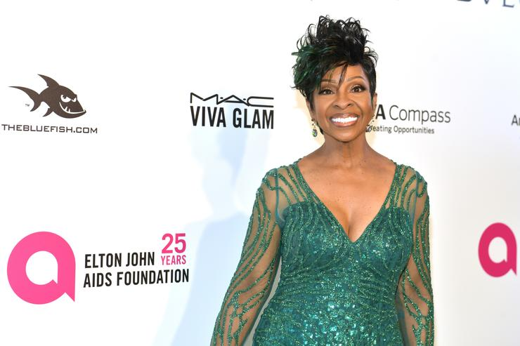 Gladys Knight attends the 26th annual Elton John AIDS Foundation's Academy Awards Viewing Party at The City of West Hollywood Park on March 4, 2018 in West Hollywood, California