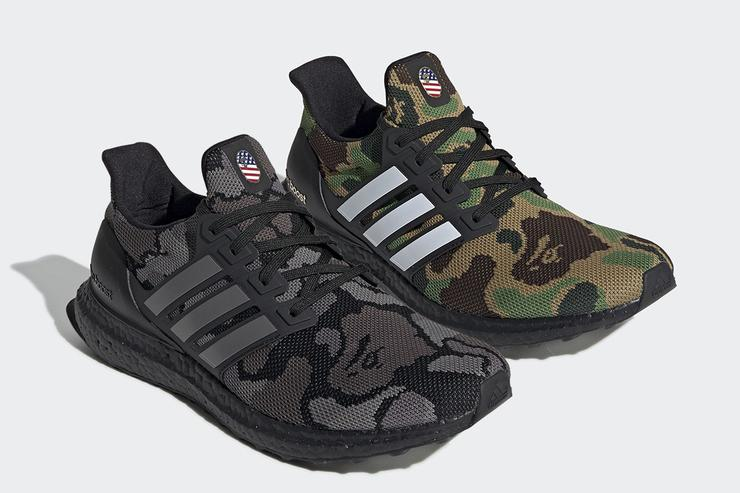 Bape X Adidas UltraBoost Official Images Revealed 933ee2341387
