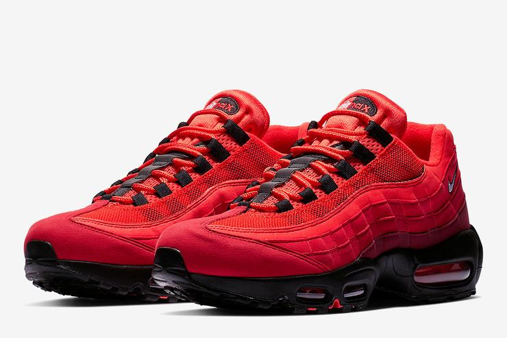 Nike Air Max 95 Og Gets Dressed In Quot Habanero Red Quot