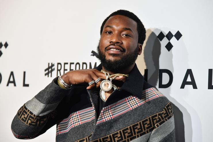 Meek Mill attends the 4th Annual TIDAL X: Brooklyn at Barclays Center of Brooklyn on October 23, 2018 in New York City