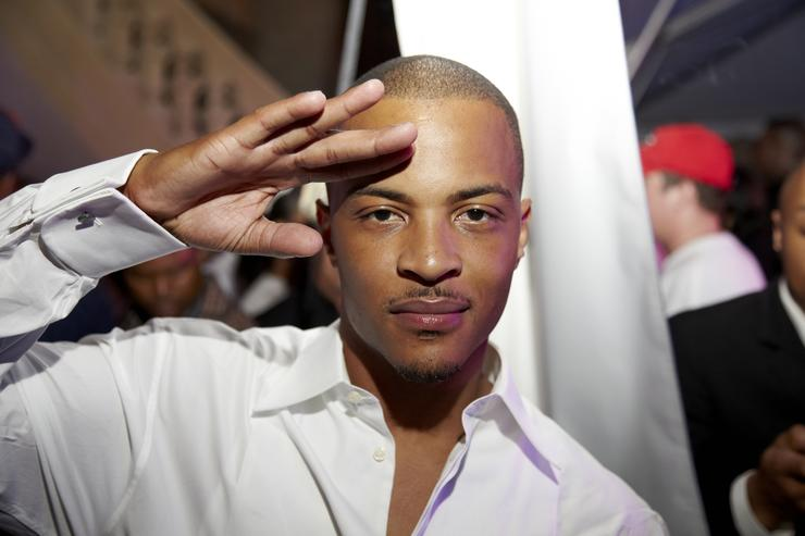 T.I. attends GREY GOOSE Cherry Noir Hosts Official Birthday Celebration for T.I. in Atlanta on September 29, 2012 in Atlanta, Georgia.
