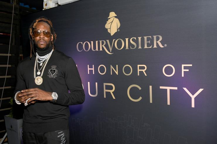 2Chainz attends the Courvoisier Cognac 'In Honor of Your City' event during Art Basel Miami on Saturday, December 8, 2018. 2Chainz performed at the event, which honored the city of Miami