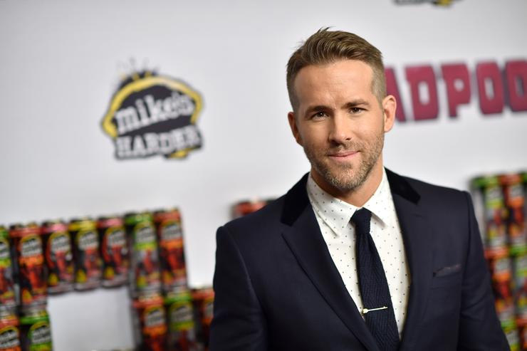 Actor Ryan Reynolds attends the 'Deadpool' fan event at AMC Empire Theatre on February 8, 2016 in New York City