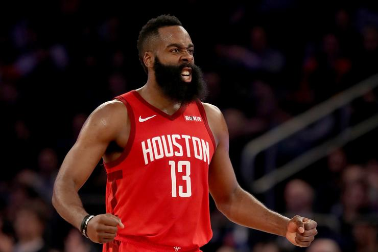 James Harden scores career-best 61 as Rockets edge Knicks