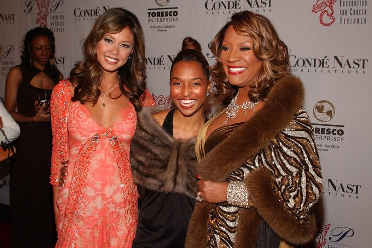 Vanessa Minnillo, Chilli of TLC and Patti LaBelle attend the Angel Ball 2005 on November 14, 2005 in New York City.