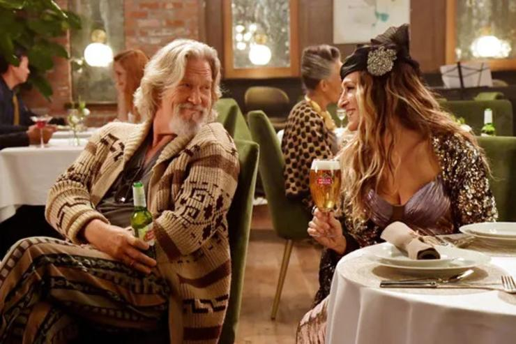 Carrie Bradshaw, The Dude Return in Stella Artois Super Bowl Ad