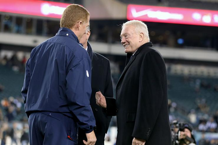Jerry Jones Not Expected to Extend Jason Garrett's Contract
