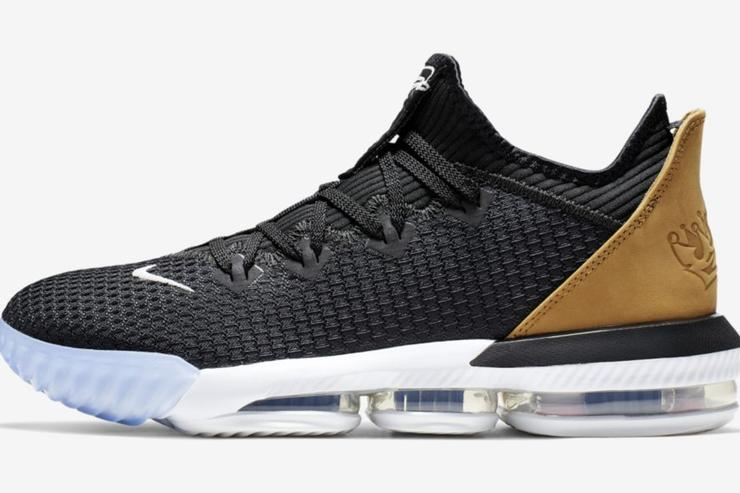 huge discount 36b16 9efd5 Nike LeBron 16 Low First Images Revealed