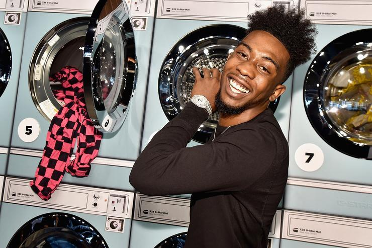 Desiigner attends the Pharrell Williams And G-Star RAW Present The New G-Star Elwood X25 Prints - New York Fashion Week - Spring/Summer 2018 on September 13, 2017 in New York City.