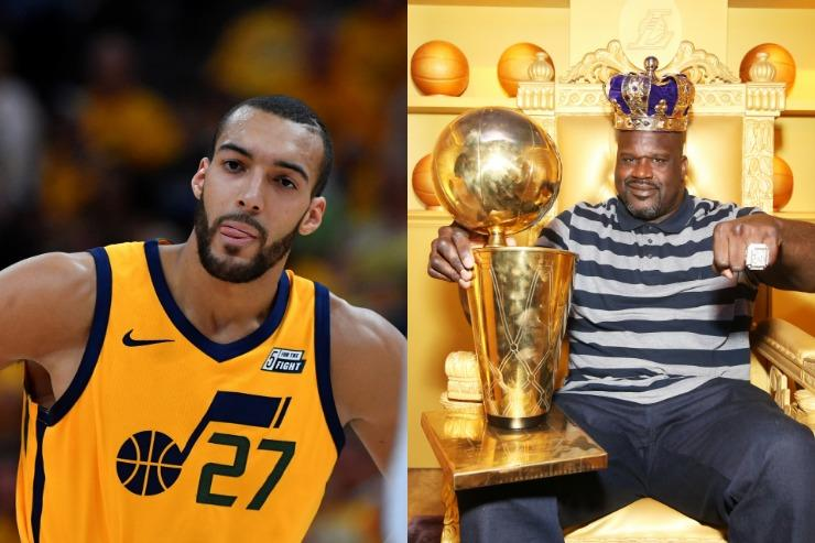 Shaquille Oneal To Rudy Gobert Theres No Crying In Basketball