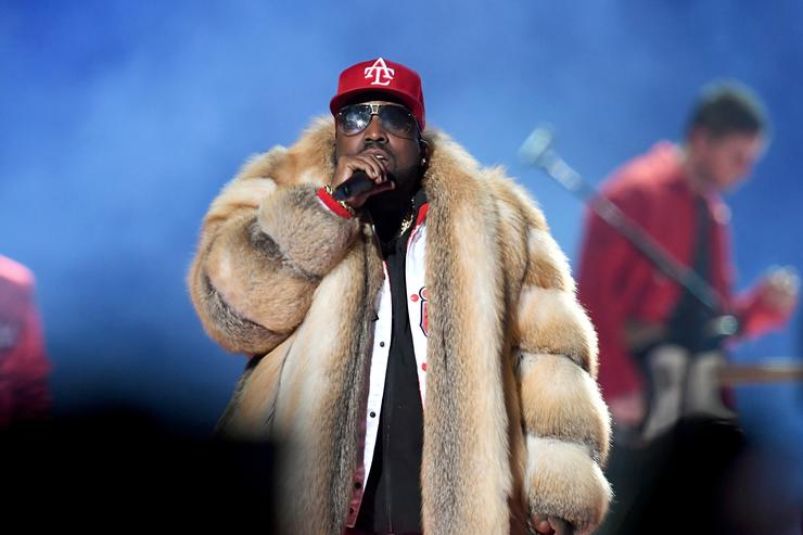 PETA condemns Big Boi's fur coat at Super Bowl LIII