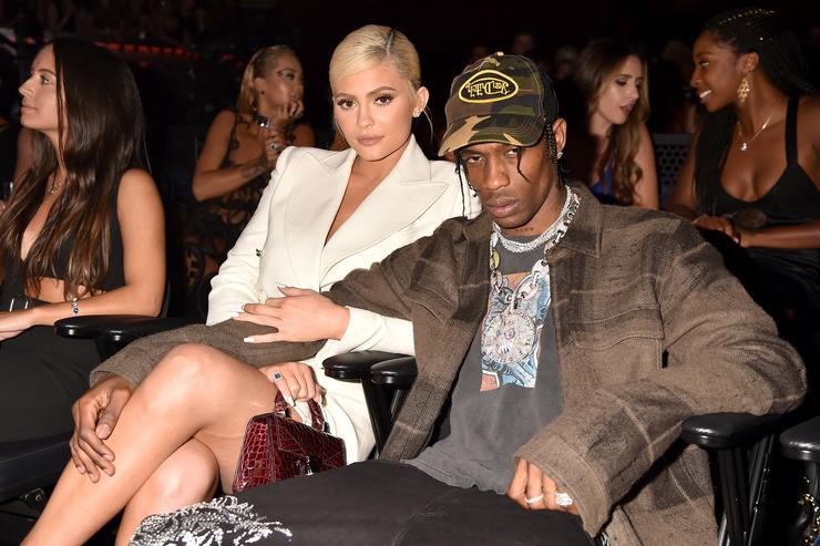 travis scott and kylie jenner together at 2018 MTV VMAs