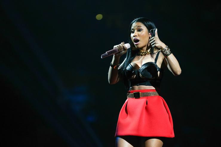 Nicki Minaj performs onstage at Power 106 FM's Powerhouse at Honda Center on May 17, 2014 in Anaheim, California