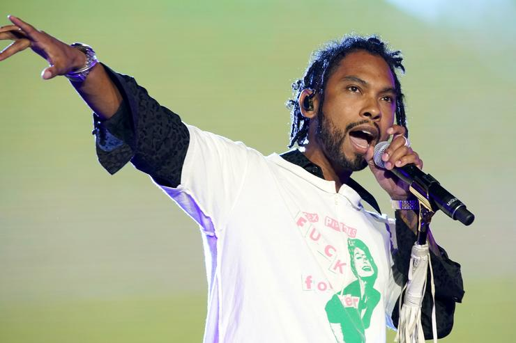 Miguel performs onstage during the 2018 Essence Festival presented By Coca-Cola - Day 1 at Louisiana Superdome on July 6, 2018 in New Orleans, Louisiana.