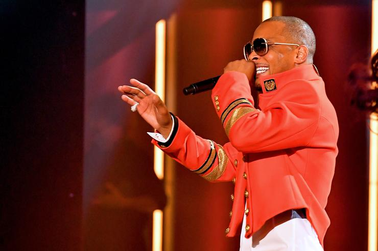 T.I. performs onstage during the BET Hip Hop Awards 2018 at Fillmore Miami Beach on October 6, 2018 in Miami Beach, Florida