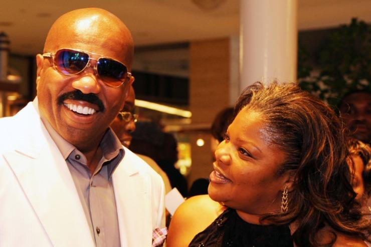 Mo'Nique and Steve Harvey Debate About Her Blackball Claims