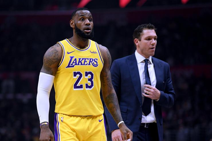 LeBron focusing on Lakers' playoff push after All-Star Game