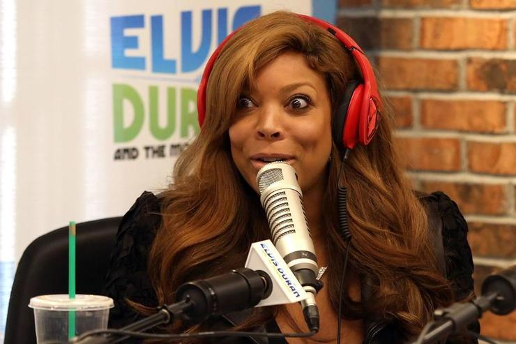Wendy Williams visits 'The Elvis Duran Z100 Morning Show' at Z100 Studio on September 26, 2014 in New York City.