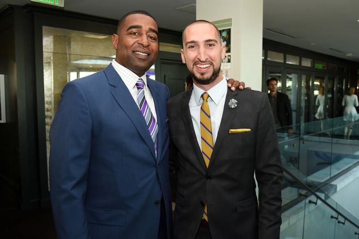 Cris Carter and Nick Wright