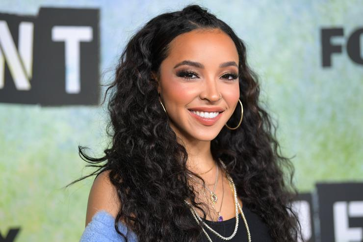 Tinashe attends the press junket for 'RENT' at Fox Studio Lot on January 8, 2019 in Century City, California.