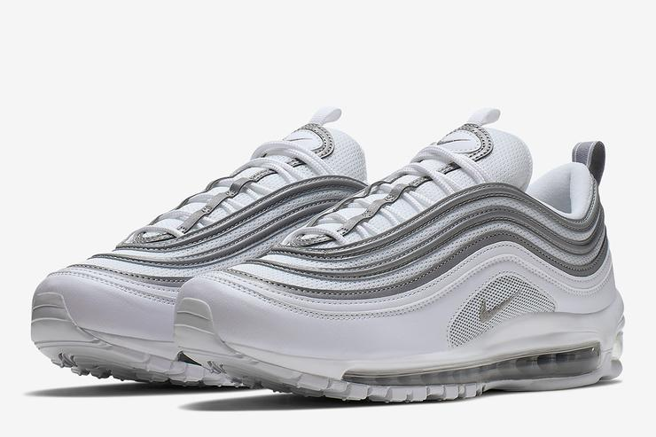 Nike Air Max 97 Coming In Clean White And Silver Colorway b3b9ff59b