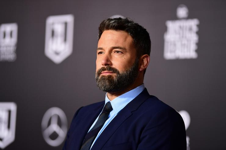 Ben Affleck attends the premiere of Warner Bros. Pictures' 'Justice League' at Dolby Theatre on November 13, 2017 in Hollywood, California