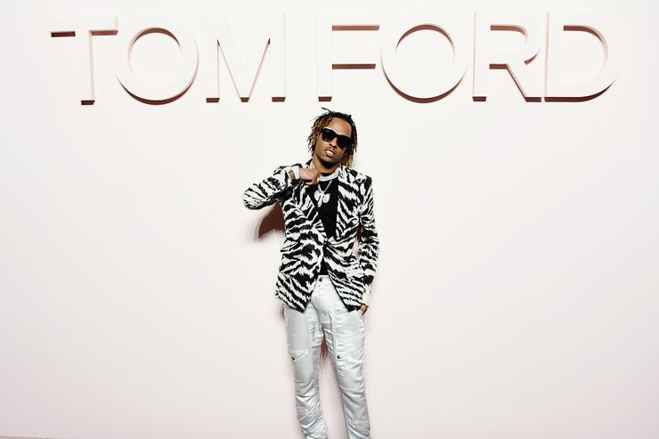 Rich the Kid attends the Tom Ford FW 2019 - Arrivals - New York Fashion Week: The Shows on February 06, 2019 in New York City.