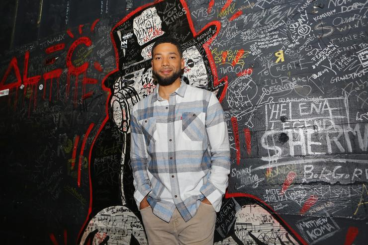 Jussie Smollett attends Espolòn Celebrates Day of the Dead at Academy Nightclub on November 1, 2018 in Hollywood, California.