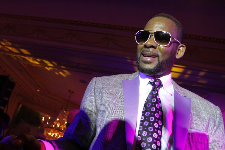 R. Kelly performs at at Arise Made In Africa Spring 2012 Designer Collective at Mercedes Benz NY Fashion Week Afterparty at Jumeirah Essex House on September 15, 2011 in New York City