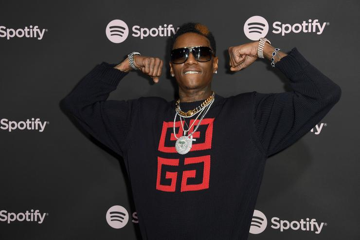Soulja Boy attends Spotify 'Best New Artist 2019' event at Hammer Museum on February 7, 2019 in Los Angeles, California.
