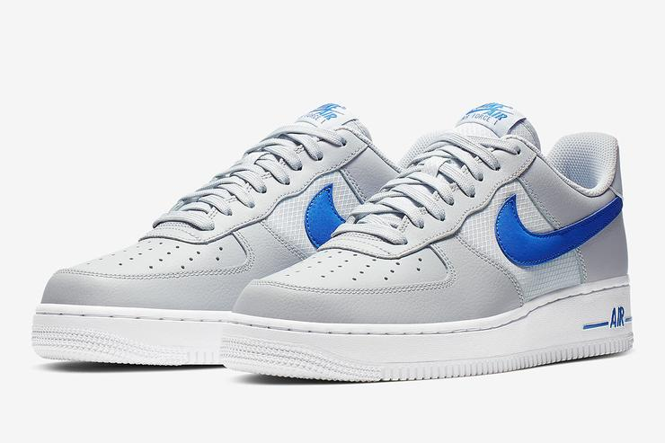 Nike Air Force One Adds Mesh To Three New Colorways 401a3c0e9cc2