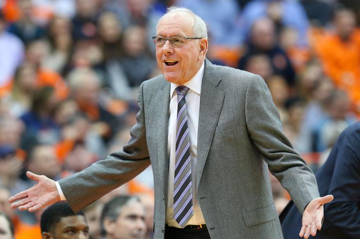 Syracuse fans give Jim Boeheim standing ovation after deadly crash