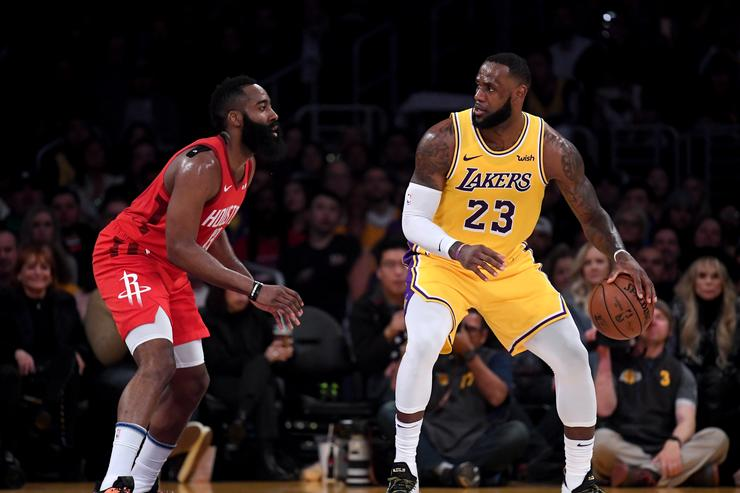 LeBron's triple-double sets another personal National Basketball Association record