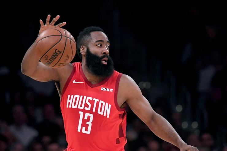 Harden's 30-point streak ends as Rockets beat Hawks 119-111
