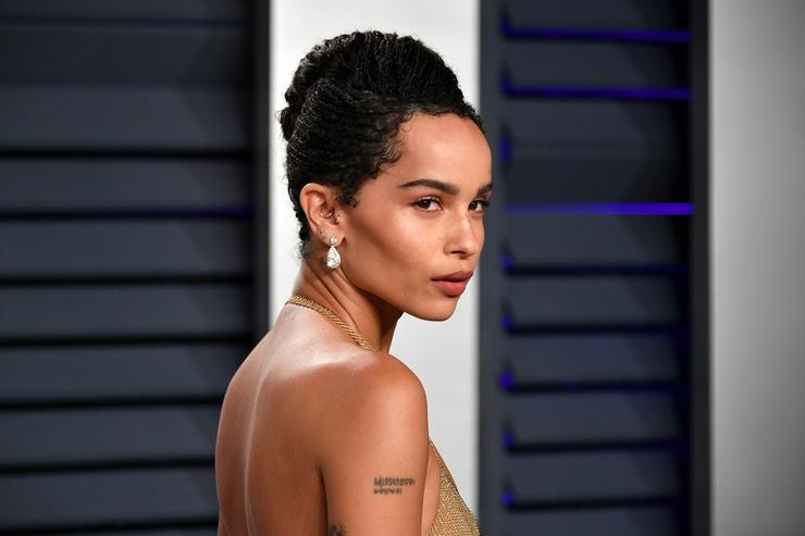 Zoe Kravitz attends the 2019 Vanity Fair Oscar Party hosted by Radhika Jones at Wallis Annenberg Center for the Performing Arts on February 24, 2019 in Beverly Hills, California