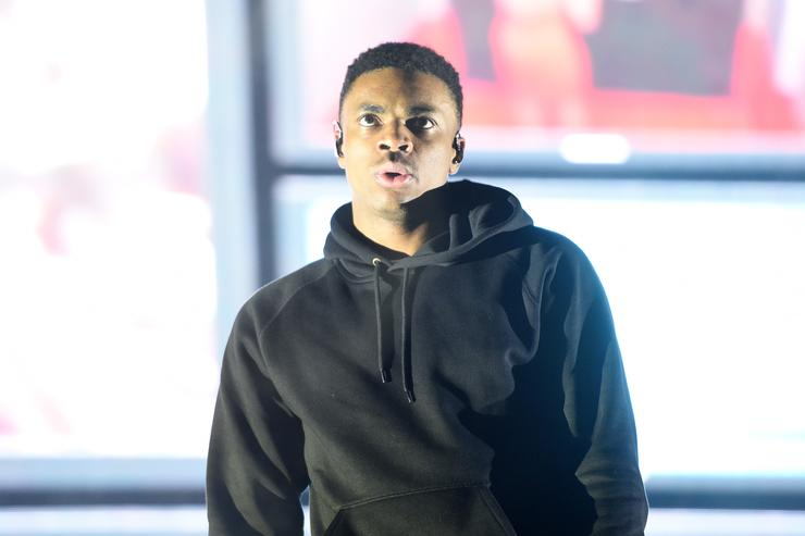 Vince Staples performs onstage at Pitchfork And October Present OctFest 2018 at Governors Island on September 8, 2018 in New York City.