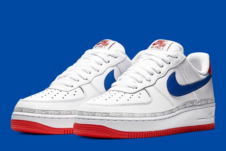 Nike Air Force 1 Low To Release In Overbranded