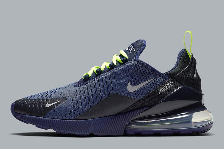 New Nike Air Max 270 Colorway Looks Like A Seahawks Fan s Dream Shoe f52ae89d6