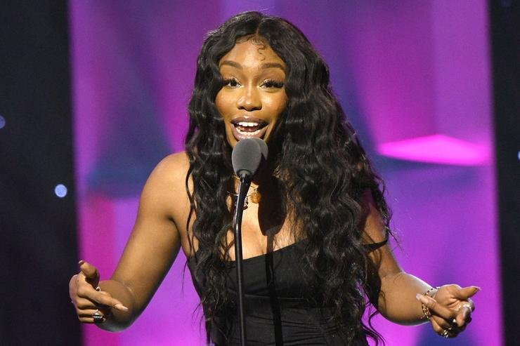 Sza speaks onstage at Billboard Women In Music 2018 on December 6, 2018 in New York City