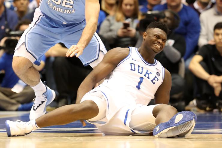 Zion misses 3rd straight game with knee sprain