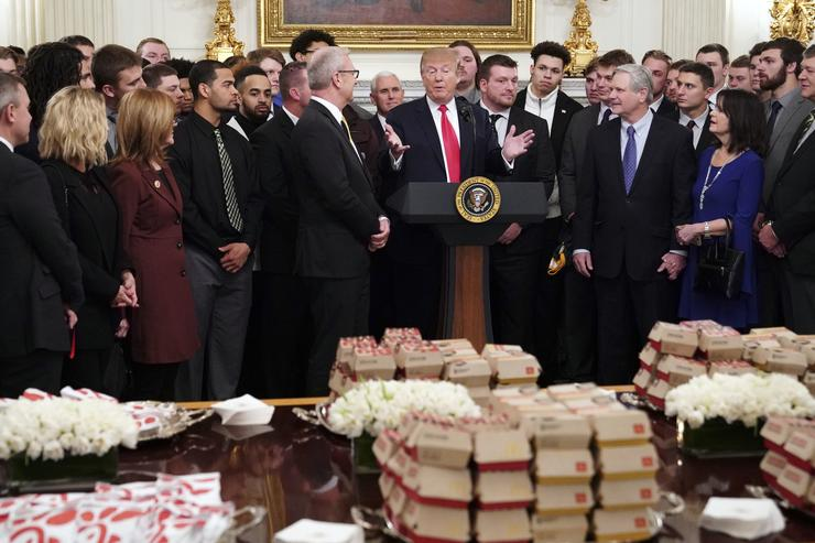 More fast food at the White House