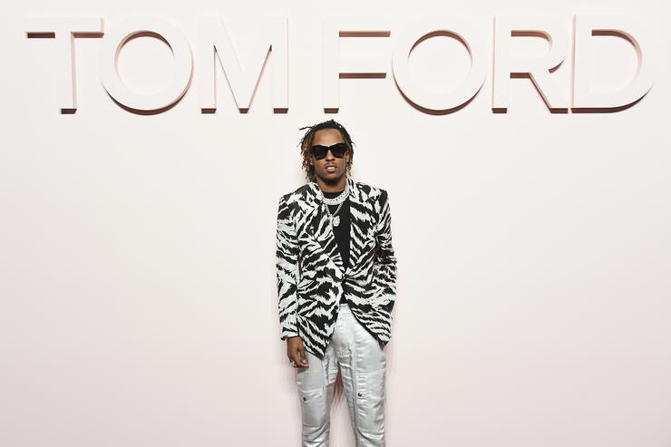 Rich the Kid attends the Tom Ford FW 2019 - Arrivals - New York Fashion Week: The Shows on February 06, 2019 in New York City