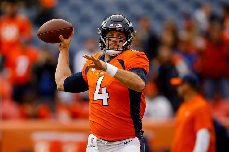 Redskins acquire QB Keenum from Broncos