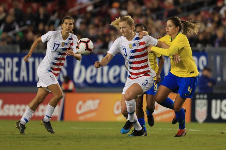 U.S. women's soccer team sues U.S. Soccer for gender discrimination
