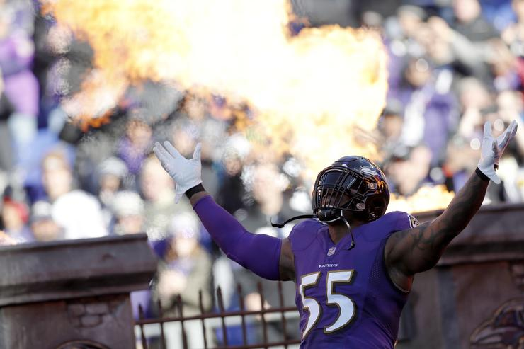 Ravens' Terrell Suggs Expected To Sign With Cardinals, Reports Say