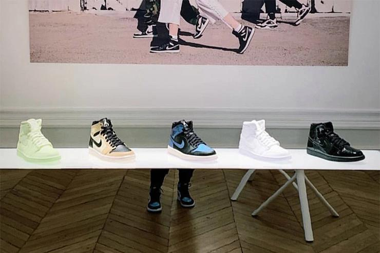 Exclusive Women s Air Jordan 1 Colorways Shown Off In Paris e2ec09716