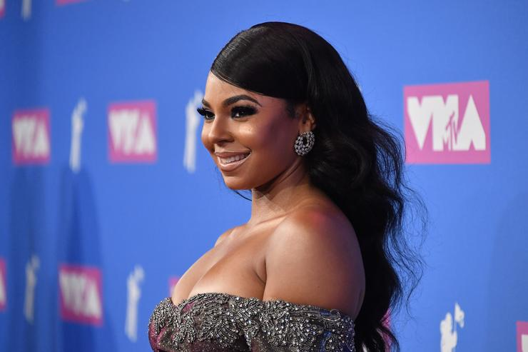 Ashanti attends the 2018 MTV Video Music Awards at Radio City Music Hall on August 20, 2018 in New York City